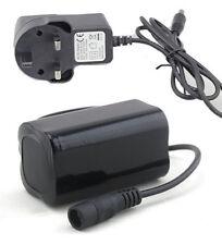 6400 mah pack batteries de rechange et chargeur pour Cree XML T6 LED vélo vtt lumière