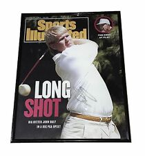 JOHN DALY HAND SIGNED AUTOGRAPHED SPORTS ILLUSTRATED GOLF MAGAZINE FRAMED W/COA
