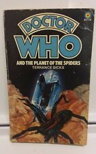 Doctor Who novel 'Planet of the Spiders' Terrance Dicks. 1982 printing.