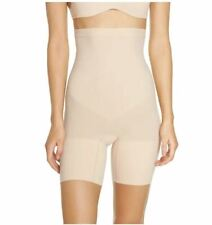 SPANX NEW $38 Higher Power Shorts in Soft Nude Large