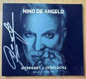 Nino de Angelo Gesegnet und verflucht Helden original Autogramm neue CD signiert