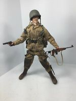 1/6 DRAGON US 101ST AIRBORNE PARATROOPER 1ST SGT D-DAY NORMANDY WW2 DID BBI 21st
