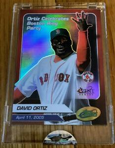 RARE MINT David Ortiz 2005 Etopps Baseball Card Dominican Star Big Papi !