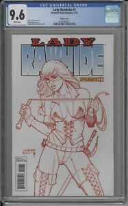 LADY RAWHIDE #1 -CGC 9.6 -RARE RAWHIDE RED VARIANT LIMITED TO 25 COPIES W/COA