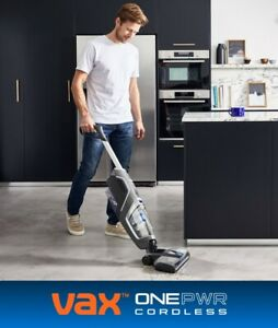 Vax ONEPWR Glide Hard Floor Cleaner, (Wash, Vacuum & Dry) 3Year Guarantee