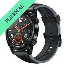 Huawei Watch GT GT-B19S Sport Smartwatch black Sportuhr Graphite Black AMOLED