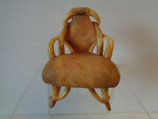 Raine and Willitts Designs Take A Seat Miniature Longhorn Chair c.1930 #24009