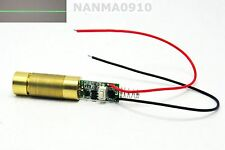 Industrial/Brass 20mW 532nm Green Line Beam Laser Module Led Lights Dc3V-3.7V