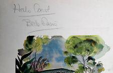 1960s Bette Davis Signed Original Dinner Menu Hotel Bel Air Los Angeles Ca.