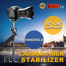 "YELANGU S60t 24""60cm Carbon Fiber Stabilizer Steadicam for DSLR Video Cameras AU"