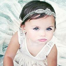 Baby Girl Trendy Flower Headband Crystal Rhinestone Hairband Hair Band Headwear