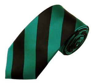 """Manzini® Neck Wear Men's 2.75"""" SLIM College Stripe Woven Tie"""