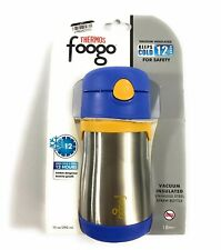 Thermos Foogo Vacuum Insulated Keeps Cold & Fresh 12hrs Silver Stainless 10oz