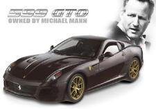 1/18 Hot Wheels Ferrari 599 GTO Michael Mann Elite Edition Diecast Model V7424