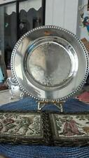 Wm Rogers silver plate shallow bowl/plate #4511