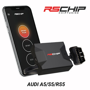RSCHIP Audi A5 S5 RS5 engine tuning power programmer performance tuner OBD2
