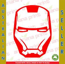 Iron Man Helmet - Vinyl Cut Decal NEW!
