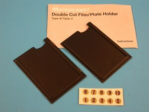 Mamiya RB67 Pair of Cut Film/Plate Holder Adapter Type A