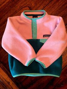 Patagonia Kids Girls 3T Synchilla Pullover Fleece