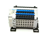 Festo 18200 Manifold Valve 10 Bar CPV10-VI-10P-10-8C-N2-R-A-8C+GCU Used