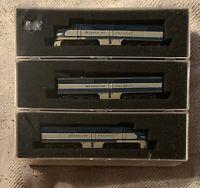 CON-COR N Scale Missouri Pacific ALCO PA-1 PB-1 Powered / Non-Pwr Locomotive Set
