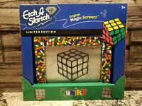 ETCH A SKETCH 60th Anniversary Rubik's Cube LIMITED EDITION NEW