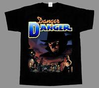 Danger Danger Naughty and Rock America NEW BLACK SHORT/LONG SLEEVE T-SHIRT