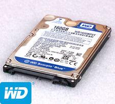 """2,5"""" 6.35cm 160GB S-ATA FESTPLATTE WESTERN DIGITAL WD1600BPVT SCORPIO BLUE -O574"""