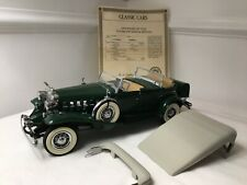 Danbury Mint 1932 Cadillac V-16 Sport Phaeton 1/24 Private Collection