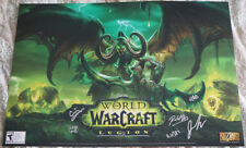 Blizzcon 2016 World of Warcraft WoW Signed Mini Poster