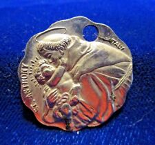 St Anthony/St Christopher Medal St Anthony Messenger Cincinnati 10, Ohio