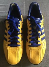 Rare SWEDEN SVERIGE Adidas ADI TR Indoor Soccer Shoe Men's Size 11 US 45.5 EUR