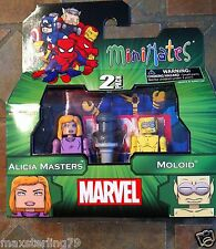 Marvel Minimates ALICA MASTERS & MOLOID Wave 48 Fantastic Four