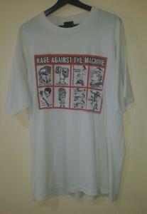 Vintage 1999 RATM Rage Against The Machine T-Shirt Giant XL  Rock Metal Rap Tee