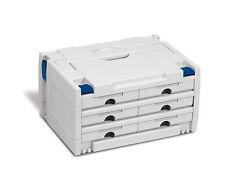 TANOS Schubladen Systainer 3 Classic koppelbar mit T Loc SYS FESTOOL Sortainer