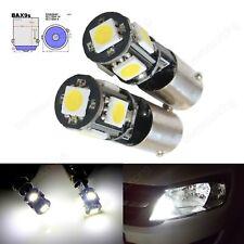 2 Canbus H6W BAX9s 5 SMD LED Auto Standlicht Parklicht Lampe 6000K Weiß 12V Audi