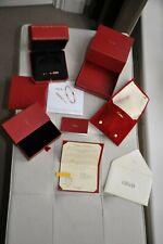 Genuine New Cartier Presentation Bracelet Box Red with  Rose Gold Screwdriver