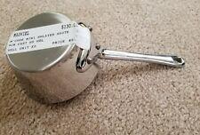Mauviel M'minis 9 cm Stainless Steel Splayed Saute Pan. Best Price
