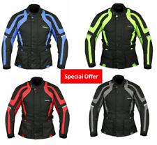 RKSports Style Commander Motorbike Motorcycle Waterproof Jacket red blue black
