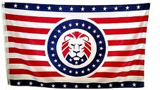 Donald Trump MAGA Lion Flag 3x5ft banner