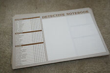 Clue Master Detective Notebook Sheets Parts Lot - Y427
