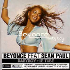 CD Single Beyoncé KNOWLES Baby boy CARD SLEEVE 2-track new sealed french sticker