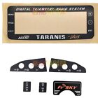 FrSky X9D Plus Taranis Radio Transmitter Replacement LCD Screen Plate & Sticker