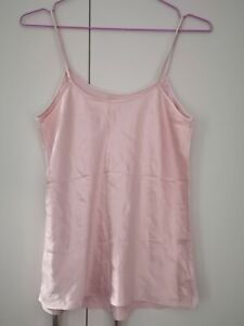 GALAXY OF SWITZERLAND 100% Silk Camisole Pink Size M