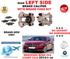 FOR MERCEDES CLS250 BLUETEC C218  2014->ON REAR LEFT BRAKE CALIPER WITH PADS SET