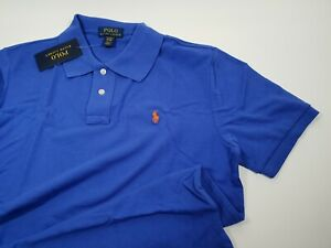 New Authentic Polo Ralph Lauren Custom Fit Cotton Mesh Polo Shirt 12-14Yrs BOYS