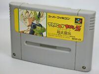 DRAGON BALL Z Butoden 1 Super Famicom Nintendo SNES Free Shipping Hit-Japan sfc