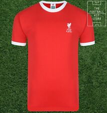Liverpool 1973 Home Shirt Mens - No 7 Keegan - Official Score Draw Retro Jersey