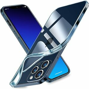 "Funda Carcasa Gel Silicona Transparente Clear Para Apple iPhone 13 Pro (5G) 6.1"""