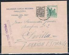 1937.- PRADO DEL REY A SEVILLA